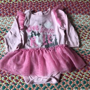 Disney Baby Princess Onesie Dress 3-6 months